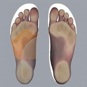 2D footscan